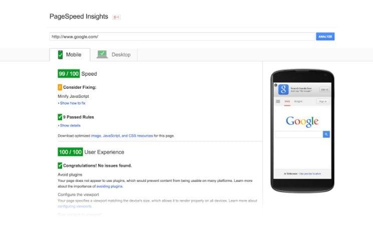 Google Speed update - Reason Digital Empowerment