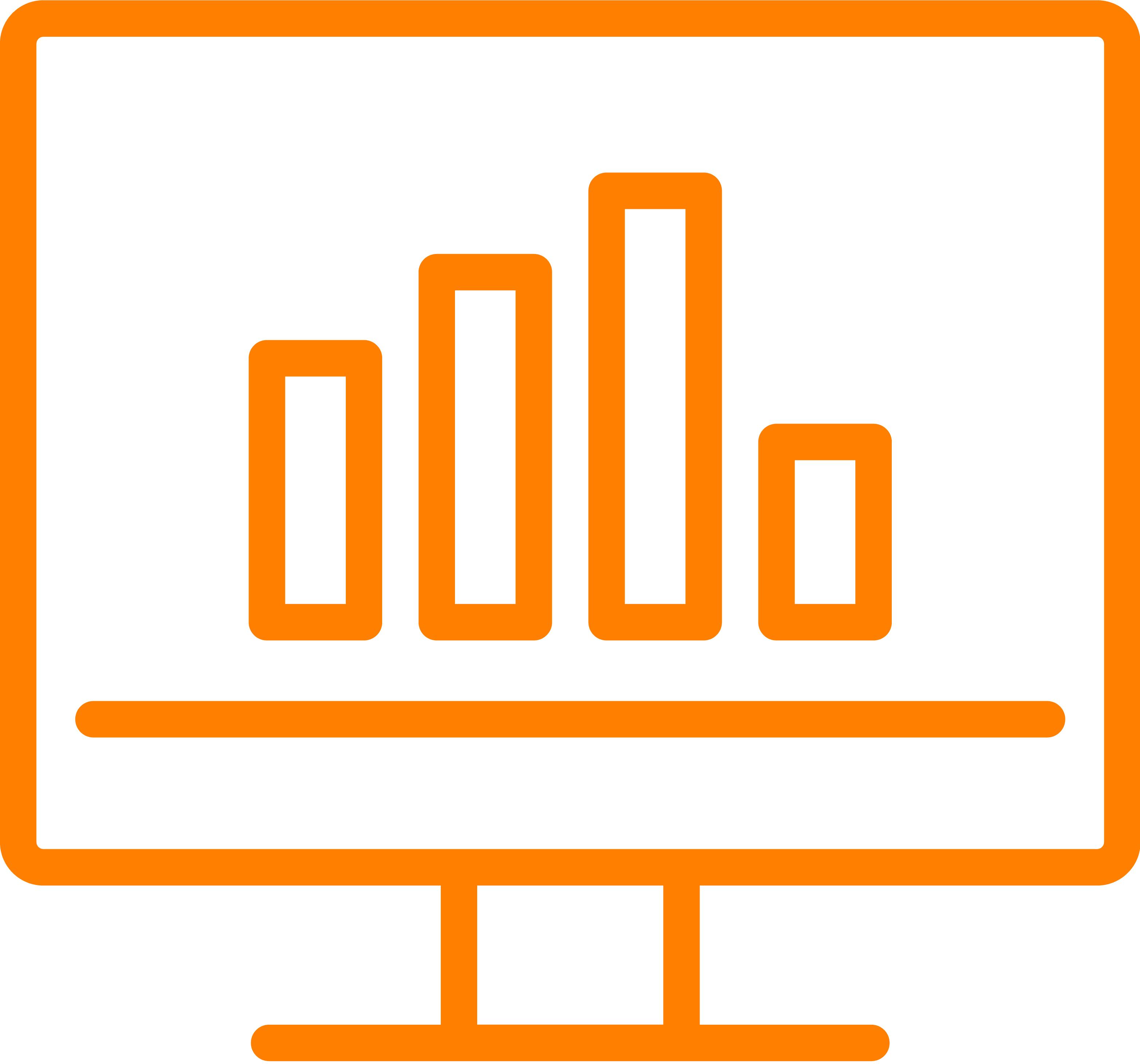 Icoon staafdiagram